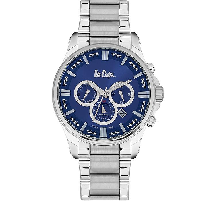 Ρολόι Lee cooper multifunction Silver bracelet LC06445.390 LC06445.390 Ατσάλι