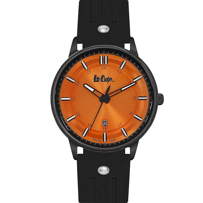 Lee cooper Black Rubber strap LC06448.601 LC06448.601