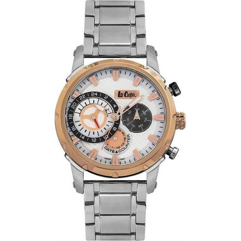 Ρολόι Lee Cooper Quartz Multifunction Silver LC06519.530 LC06519.530
