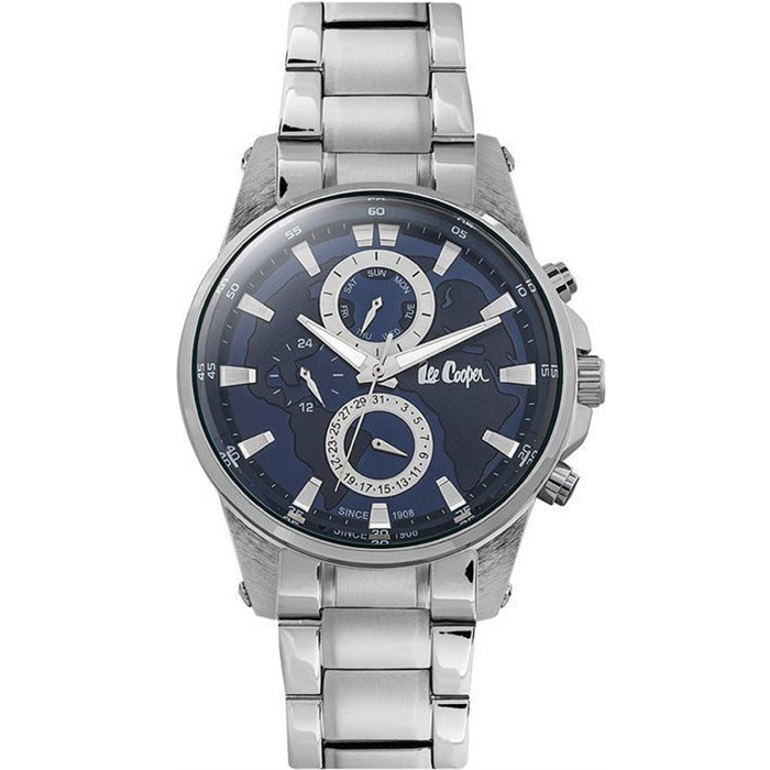 Lee Cooper Silver Metallic Watch LC06539.390 LC06539.390 Ατσάλι
