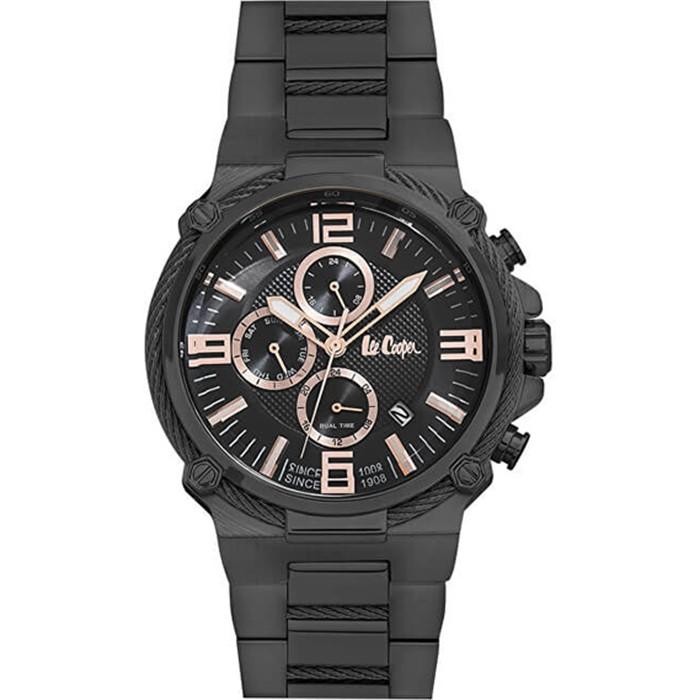 Ανδρικό ρολόι Lee Cooper Black LC06582.650 LC06582.650