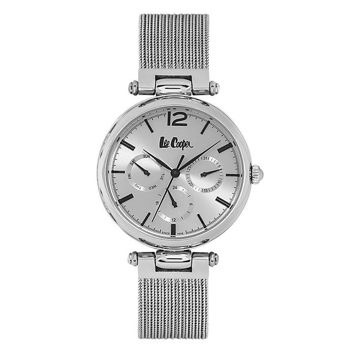 Γυναικείο ρολόι Lee Cooper ασημί με μπρασελέ LC06618.330 LC06618.330 Ατσάλι