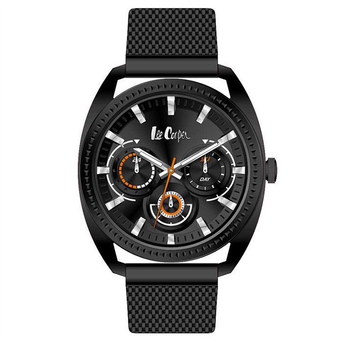 Lee Cooper Black Timepiece με μπρασελέ LC06663.650 LC06663.650