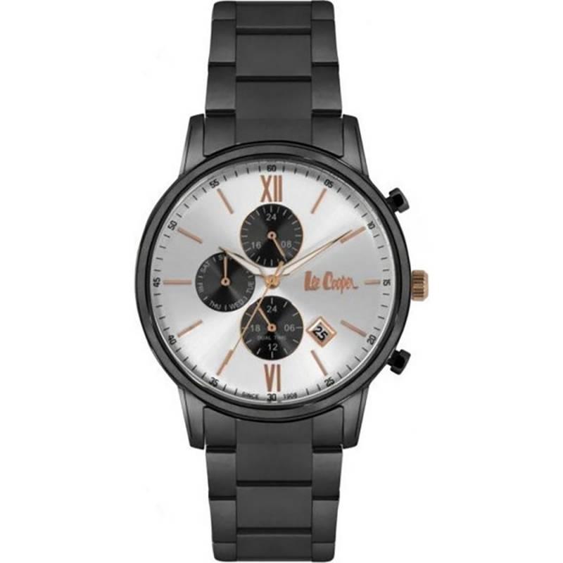 Ανδρικό ρολόι Lee Cooper Black Bracelet LC06831.030 LC06831.030