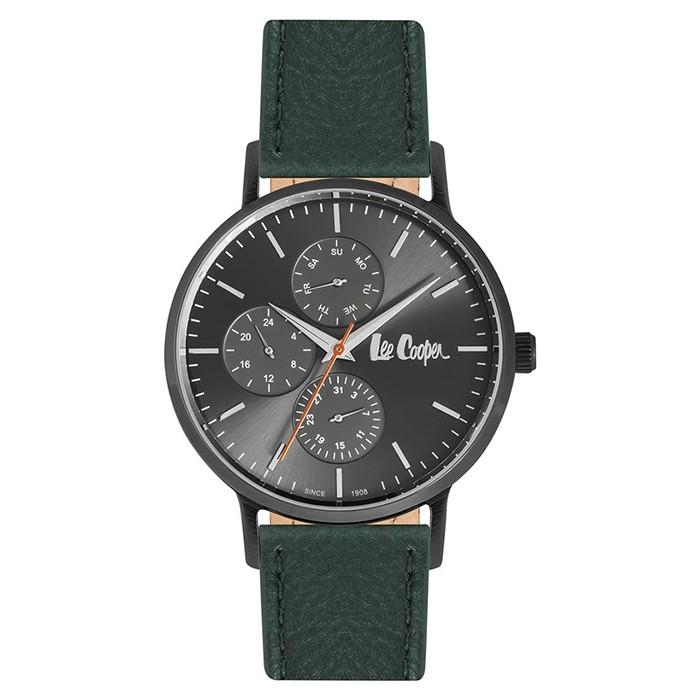Ρολόι Lee Cooper Multifunction green strap LC06834.655 LC06834.655 Ατσάλι