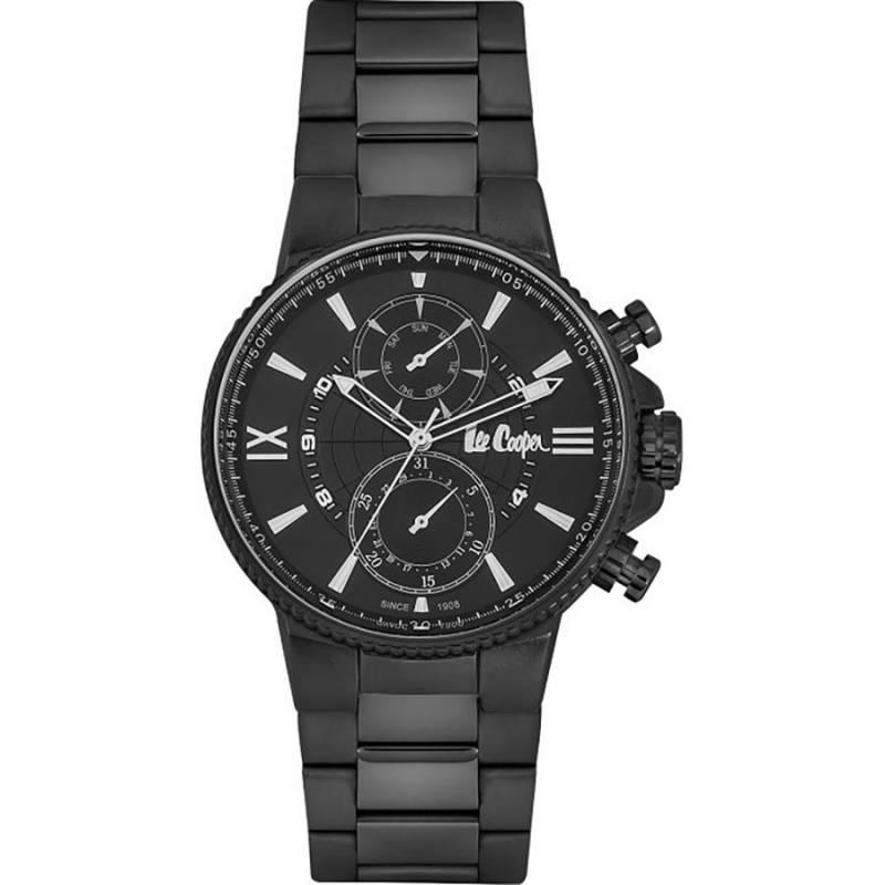 Ανδρικό ρολόι Lee Cooper Black Bracelet LC06842.650 LC06842.650