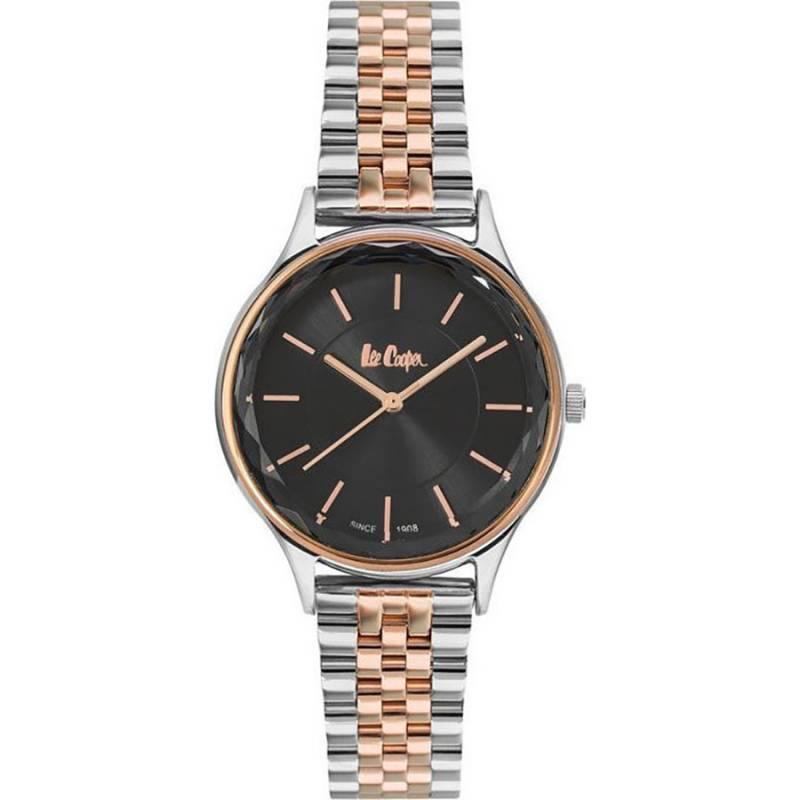 Δίχρωμο γυναικείο ρολόι Lee Cooper με μπρασελέ LC06892.560 LC06892.560 Ατσάλι