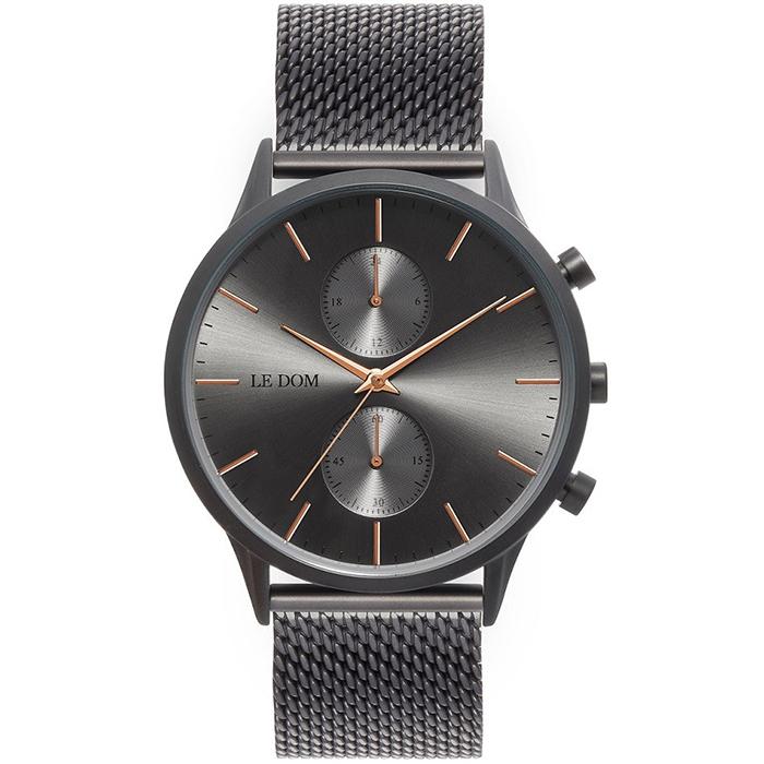 Αναλογικό ρολόι Le Dom Prime LD.1002-6 LD.1002-6 Ατσάλι