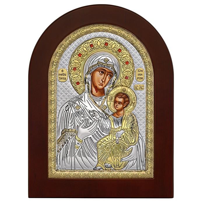 Εικόνα Παναγία Πορταΐτισσα ασημένια 925 032148 032148 Ασήμι