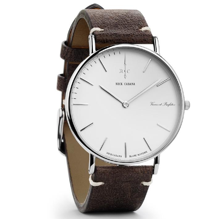 Ρολόι αντρικό Nick Cabana Blanc Boheme NC001 NC001 Ατσάλι