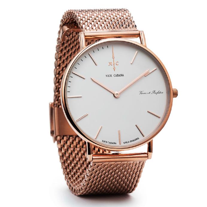 Ρολόι Nick Cabana Boheme Rose gold Bracelet NC004 NC004 Ατσάλι