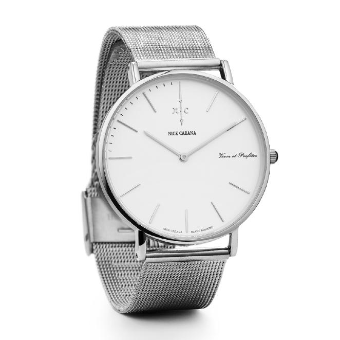 Nick Cabana ρολόι Blanc Boheme Bracelet NC006 NC006 Ατσάλι