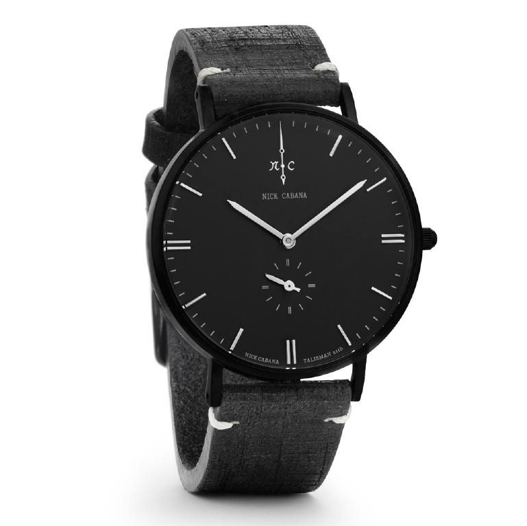 Ρολόι αντρικό Nick Cabana Talisman Black NC102 NC102 Ατσάλι