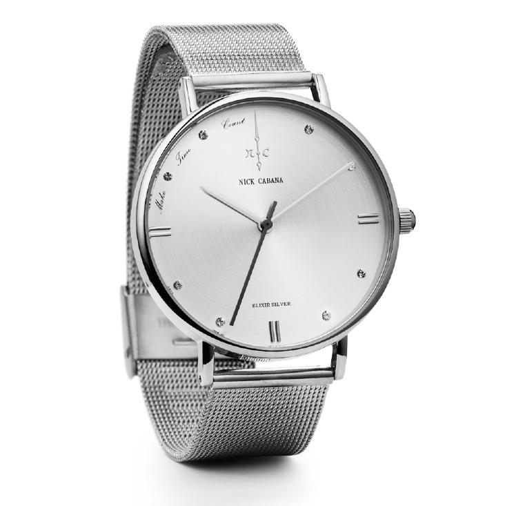 Γυναικείο ρολόι Elixir Silver Bracelet NC105 NC105 Ατσάλι