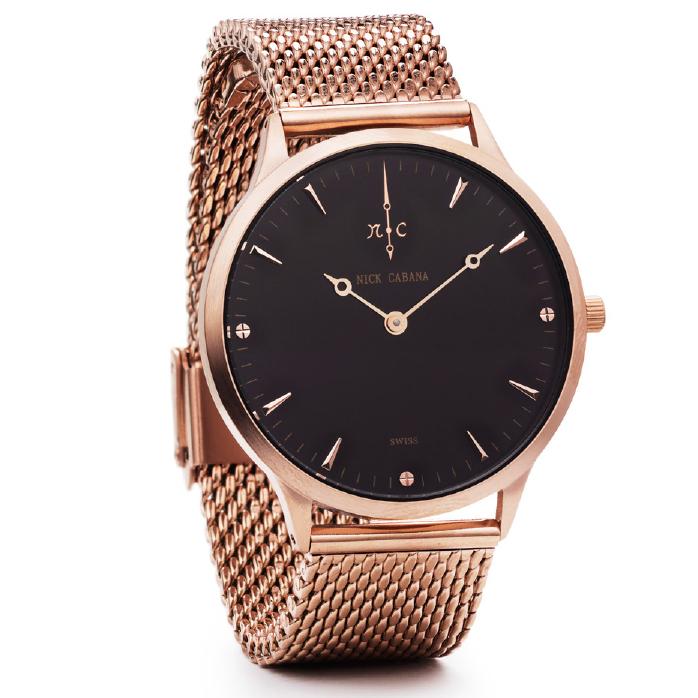 Ρολόι Nick Cabana Nilaya Rose gold Bracelet NC208 NC208 Ατσάλι