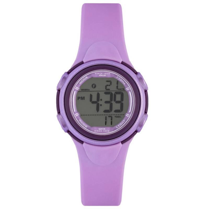 Παιδικό ψηφιακό ρολόι Lee Cooper purple Rubber strap ORG05201.020 ORG05201.020