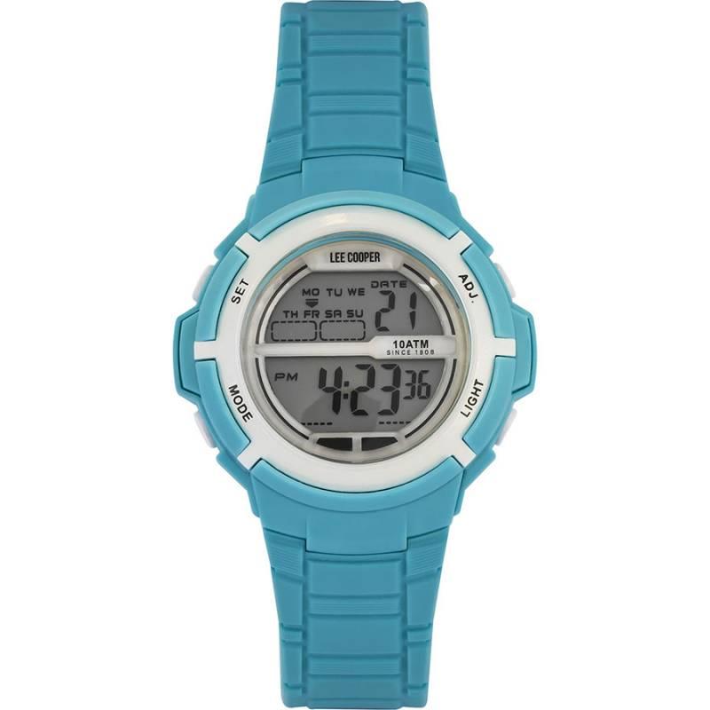 Παιδικό ψηφιακό ρολόι Lee Cooper Light blue strap ORG05202.027 ORG05202.027