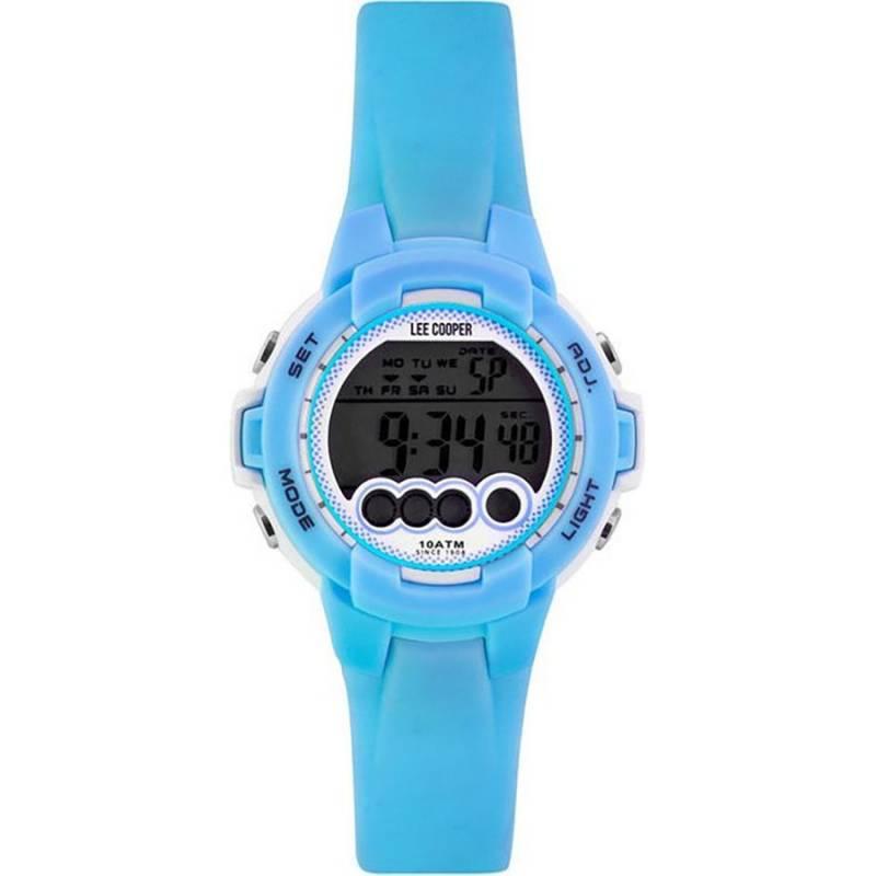 Digital Lee Cooper Light blue strap ORG05204.027 ORG05204.027