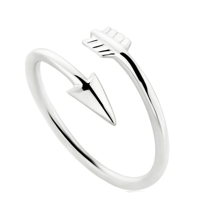 Γυναικείο δαχτυλίδι Arrow R15 R15 Ασήμι