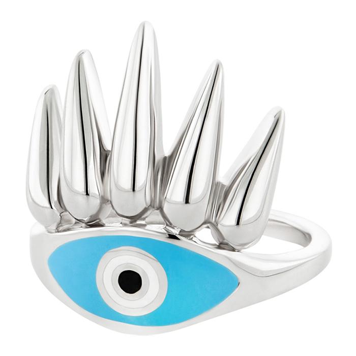 Δαχτυλίδι γυναικείο Eye of the Sun R23 R23 Ασήμι fashion jewels honor δαχτυλίδια