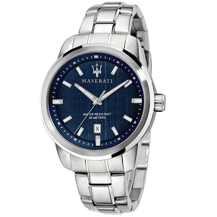 Maserati ανδρικό ρολόι με μπρασελέ R8853121004 R8853121004 Ατσάλι