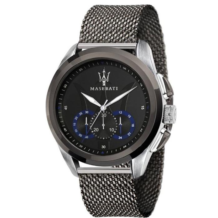 Ανδρικό ρολόι Maserati Traguardo Chronograph R8873612006 R8873612006 Ατσάλι
