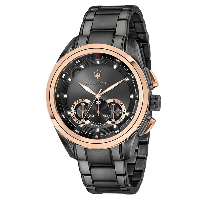 Ανδρικό ρολόι Maserati Traguardo R8873612016 R8873612016 Ατσάλι