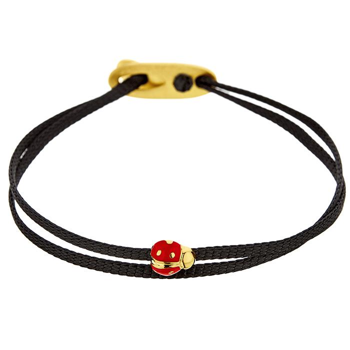 Bracelet Love Bug Yellow SB100Y SB100P Ασήμι