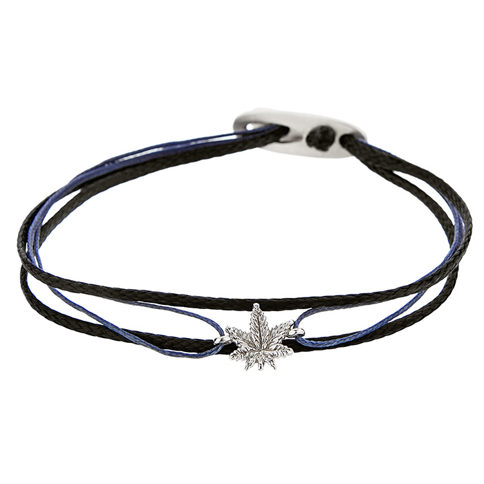 Bracelet Marichuana Silver SB103S SB103S Ασήμι