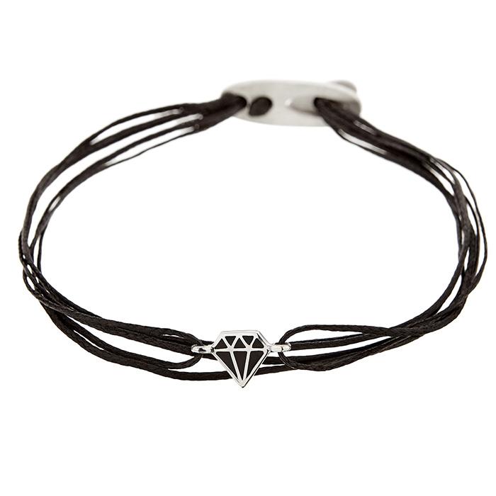 Bracelet diamon Silver SB97PB SB97SB Ασήμι