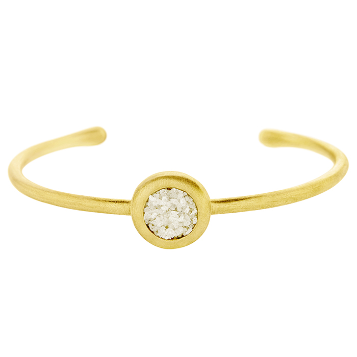 Honor Circle Cuff SDΒ1YW SDB1YW Ασήμι fashion jewels honor honor omano diamond cult