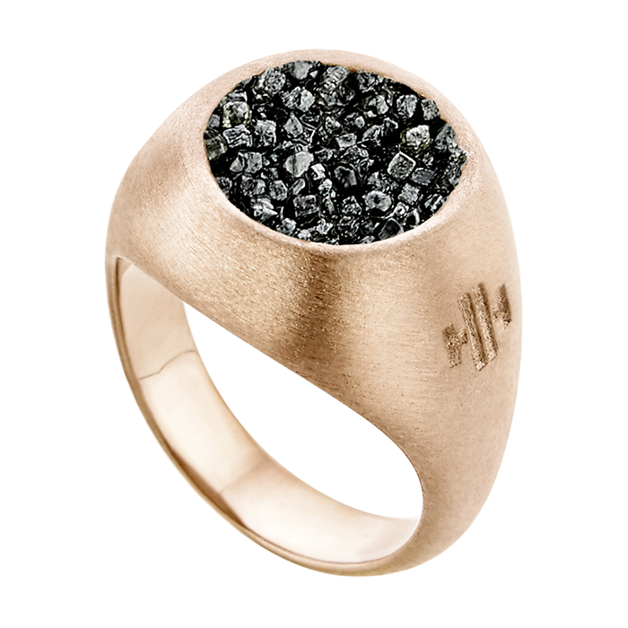 Ring Small Chevalier SDR4PD SDR4PD Ασήμι fashion jewels honor honor omano diamond cult