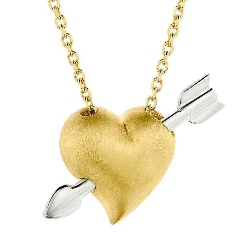 Κολιέ Honor Omano Heart & Arrow SP186YS SP186YS Ασήμι fashion jewels honor κολιέ