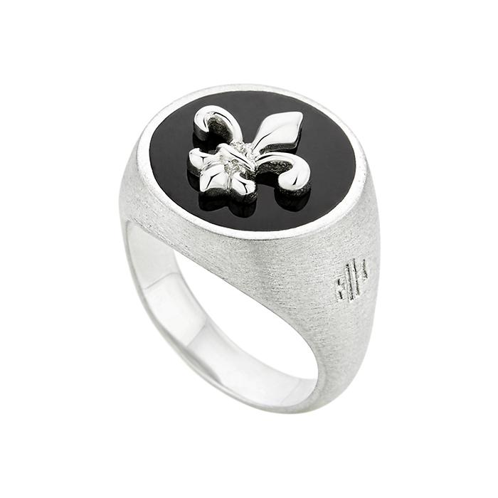 Honor ring Fleur de Lis SR040SBS SR040SBS Ασήμι