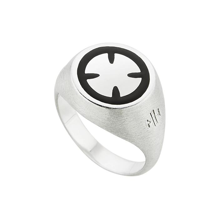 Ασημένιο δαχτυλίδι Cross SR041SB SR041SB Ασήμι