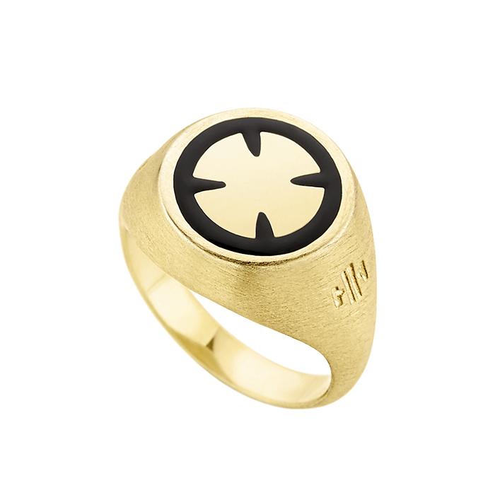 Ring Cross Honor SR041YB SR041YB Ασήμι fashion jewels honor δαχτυλίδια