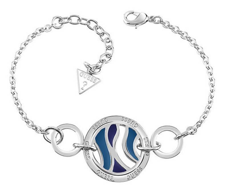 Guess γυναικείο βραχιόλι επάργυρο UBB82024-L UBB82024-L Ορείχαλκος fashion jewels guess bραχιόλια