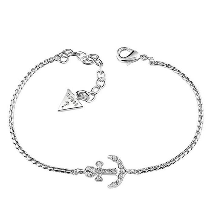 Guess Βραχιόλι γυναικείο επάργυρο UBB83003-L UBB83003-L Ορείχαλκος fashion jewels guess bραχιόλια