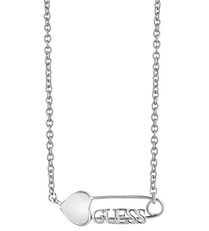 Γυναικείο κολιέ Guess με παραμάνα UBN83117 UBN83117 Ορείχαλκος fashion jewels guess κολιέ