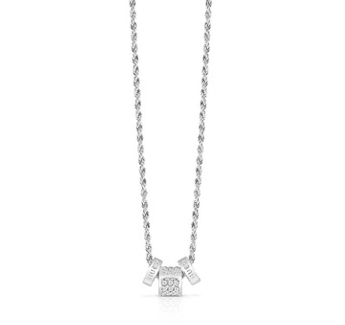 Γυναικείο κολιέ Guess με χάντρες UBN84047 UBN84047 Ορείχαλκος fashion jewels guess κολιέ