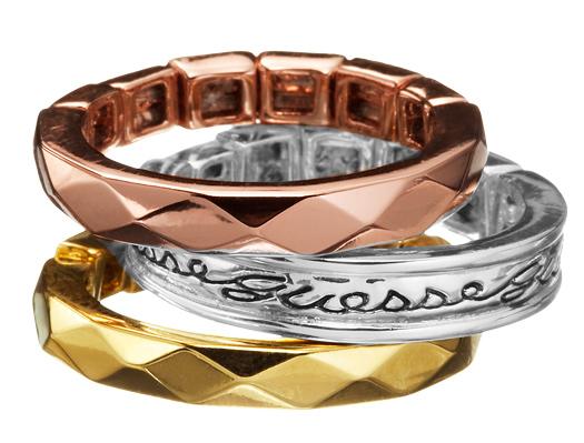Δαχτυλίδι Guess UBR81014 UBR81014 Ορείχαλκος fashion jewels guess δαχτυλίδια