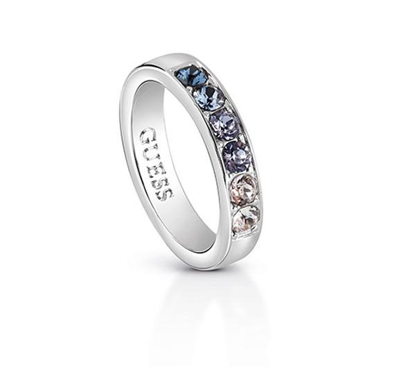 Σειρέ δαχτυλίδι Guess με ζιργκόν πέτρες UBR83034-54 UBR83034-54 Ορείχαλκος fashion jewels guess δαχτυλίδια