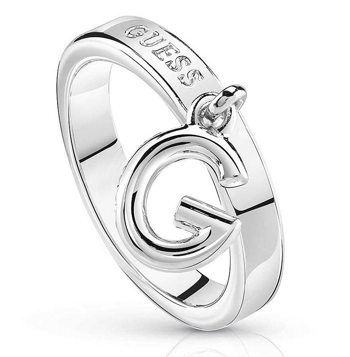 Guess δαχτυλίδι με το μονόγραμμα G UBR84018-54 UBR84018-54 Ορείχαλκος fashion jewels guess δαχτυλίδια