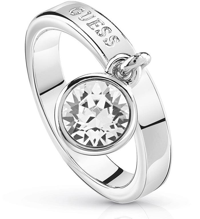 Δαχτυλίδι Guess με κρεμαστή πέτρα UBR84022-54 UBR84022-54 Ορείχαλκος fashion jewels guess δαχτυλίδια
