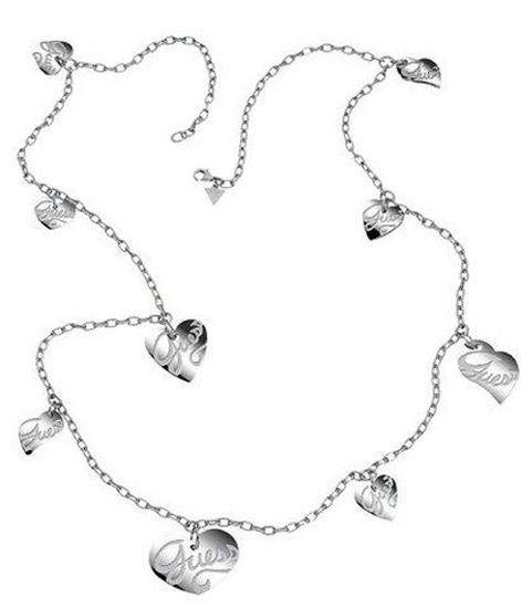 Κολιέ GUESS BY MARCIANO USN80902 Ατσάλι fashion jewels guess κολιέ