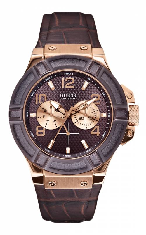 Αντρικό ρολόι Guess W0040G3 Ατσάλι
