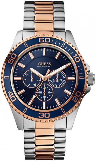 Ανδρικό ρολόι Guess W0172G3 W0172G3 Ατσάλι