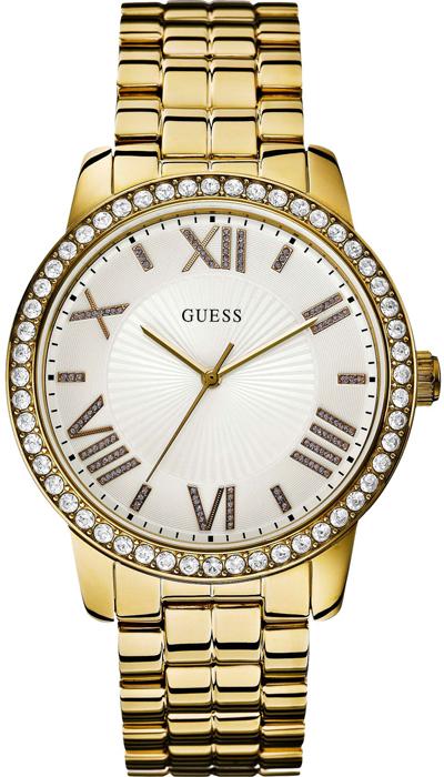 Guess γυναικείο ρολόι επίχρυσο W0329L2 W0329L2 Ατσάλι ρολόγια guess