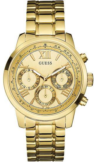 Επίχρυσο γυναικείο ρολόι Guess W0330L1 Ατσάλι