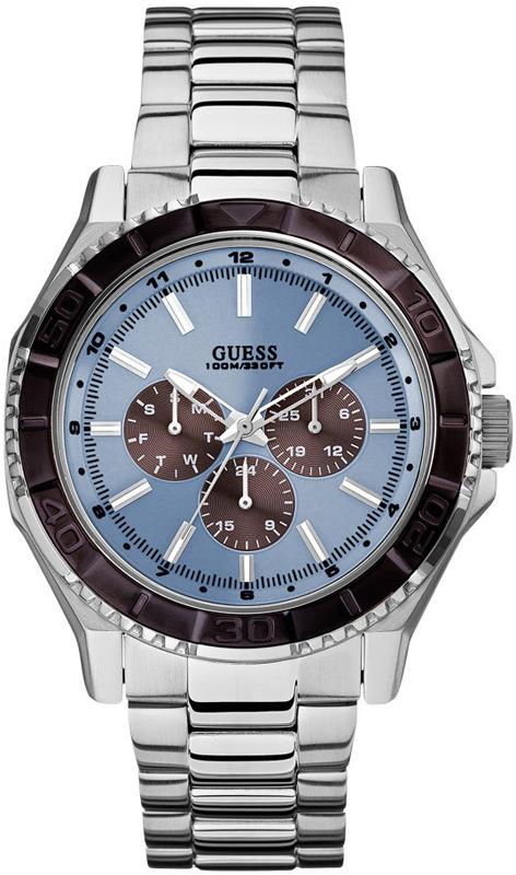 Ανδρικό ρολόι Guess W0479G2 W0479G2 Ατσάλι